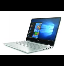 """HP Pavilion x360 14-dh1004nh, 14"""" FHD AG IPS, Core i5-10210U, 8GB, 256GB SSD, GF MX130 2GB, Win 10, ezüst"""