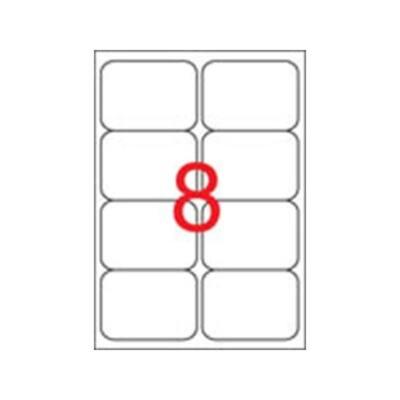 APLI Etikett, univerzális, 99,1x67,7 mm, kerekített sarkú, , 800 etikett/csomag