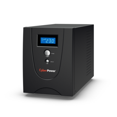 CYBERPOWER UPS VALUE1200EILCD (6xIEC 320) 1200VA 720W 230V szünetmentes tápegység + USB LINE-INTERACTIVE