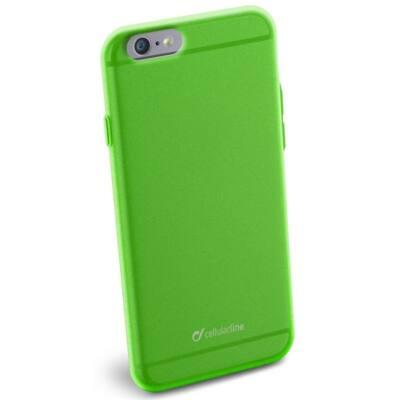 Cellularline Tok, COLOR SLIM, mobiltelefonhoz, gumi, iPhone 6/6S, zöld