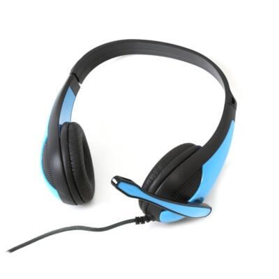 FREESTYLE fejhallgató, sztereó headset,  FH4008 sorozat - Kék