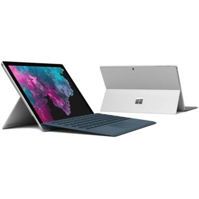 "Microsoft Surface Pro 6 - 12.3"" (2736 x 1824) - Core i5 (8250U, HD 620) - 8GB RAM - 256GB SSD - Windows 10 Pro, Plat"