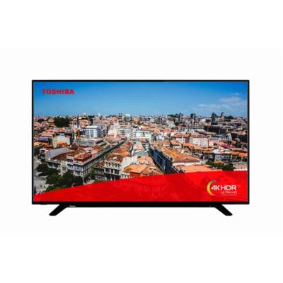 "TOSHIBA Smart HDR10 4K TV 55"" 55U2963DG, 3840x2160 UHD, HDMIx3, USBx2, VGA, CI Slot, LAN, WiFi, Bluetooth"