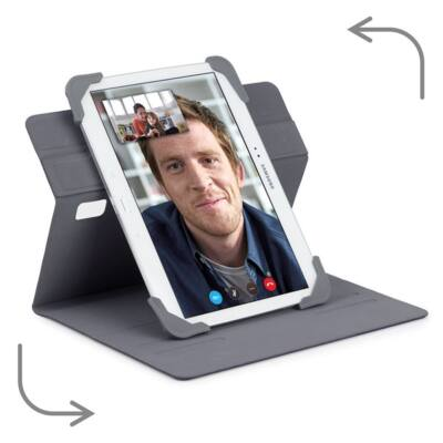 "TARGUS Tablet tok, Fit N' Grip 9-10"" Rotating Universal Tablet Case - BLUE"